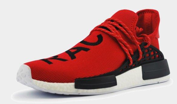 Adidas NMD X Pharell Human Race красные