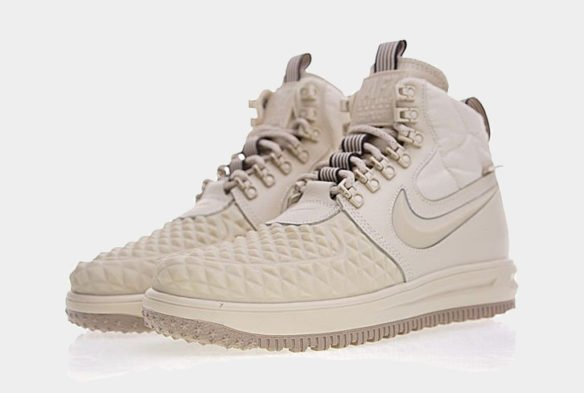 Фото Nike Lunar Force 1 Duckboot бежевые - 3