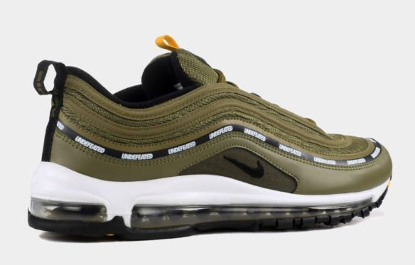 Фото Undefeated x Nike Air Max 97 зеленые с белым - 3