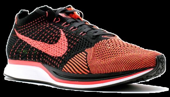Фото Nike Flyknit Racer Красные - 2